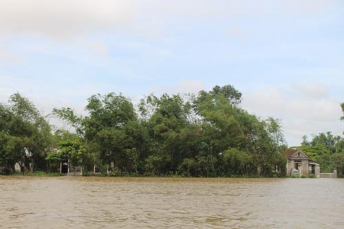 Ảnh: Nước mênh mông, người Huế đi thuyền từ nhà ra ngõ - 14