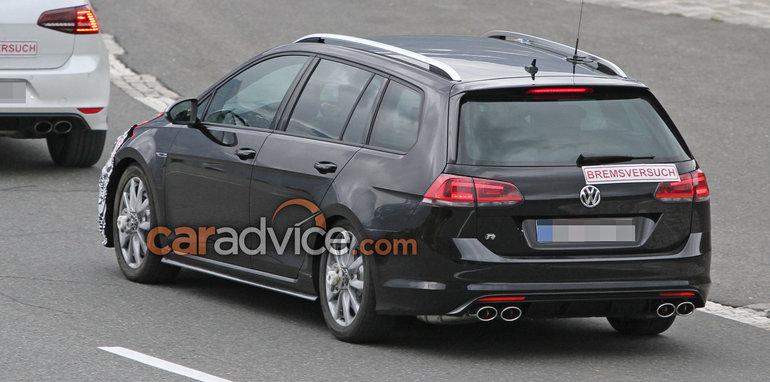 Lộ ảnh VW Golf bản nâng cấp 2017 - 3
