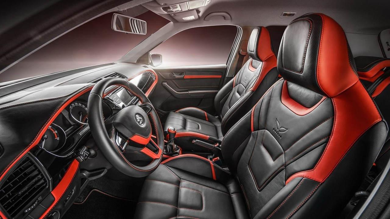 """Ngắm gói độ nội thất """"phiên bản Rolls-Royce"""" của xe Skoda Fabia - 1"""
