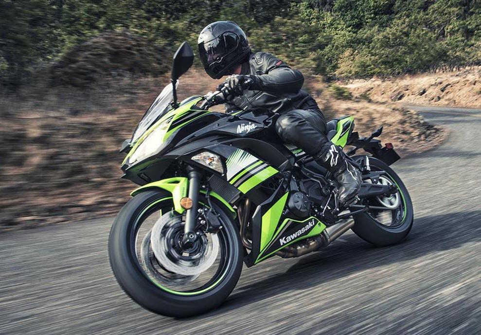 """Nhá hàng"" Kawasaki Ninja 650 sportbike và Z650 naked sport 2017 - 7"