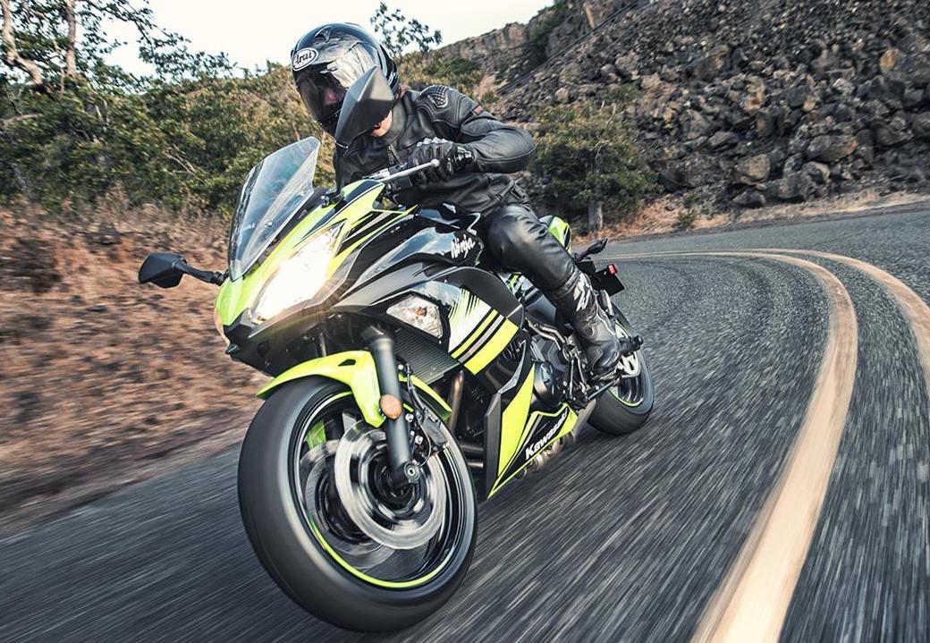 """Nhá hàng"" Kawasaki Ninja 650 sportbike và Z650 naked sport 2017 - 6"