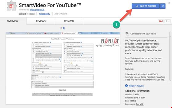 Thủ thuật tăng tốc phát video trên YouTube - 1