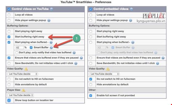 Thủ thuật tăng tốc phát video trên YouTube - 2
