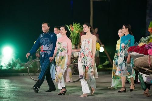 Nghệ sĩ, giai nhân Việt rạng rỡ trảy hội áo dài Hà Nội - 6