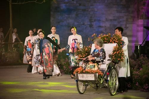Nghệ sĩ, giai nhân Việt rạng rỡ trảy hội áo dài Hà Nội - 12