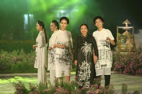 Nghệ sĩ, giai nhân Việt rạng rỡ trảy hội áo dài Hà Nội - 13