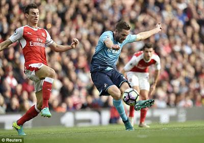 Chi tiết Arsenal - Swansea: Lỡ ngôi đầu bảng (KT) - 6