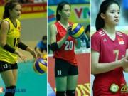 Thể thao - 9 người đẹp bóng chuyền tài sắc vẹn toàn ở VTV Cup