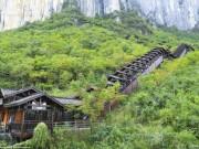 Du lịch - TQ mở cửa thang máy ngắm cảnh dài nhất thế giới