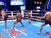 """Thể thao - """"Hoàng tử Muay Thái"""" 1 mình hạ gục 3 đối thủ"""