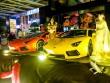 """""""Lóa mắt"""" trước dàn siêu xe toàn Lamborghini tụ hội tại Sài Gòn"""
