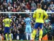 Thủ môn Everton 2 lần khiến Man City ôm hận chấm 11m