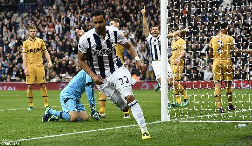 West Brom - Tottenham: Kịch tính 10 phút cuối - 1