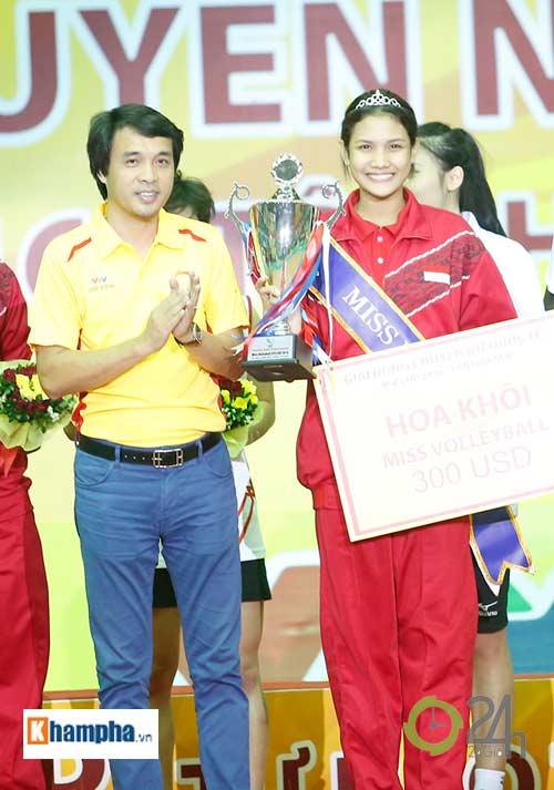 Người đẹp Indonesia đăng quang Hoa khôi VTV Cup 2016 - 2