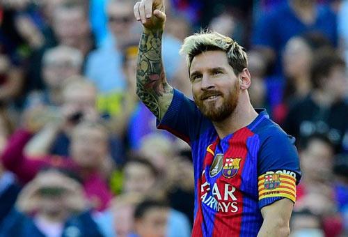 Messi lại nôn khan, vẫn lập kỷ lục La Liga mới - 1