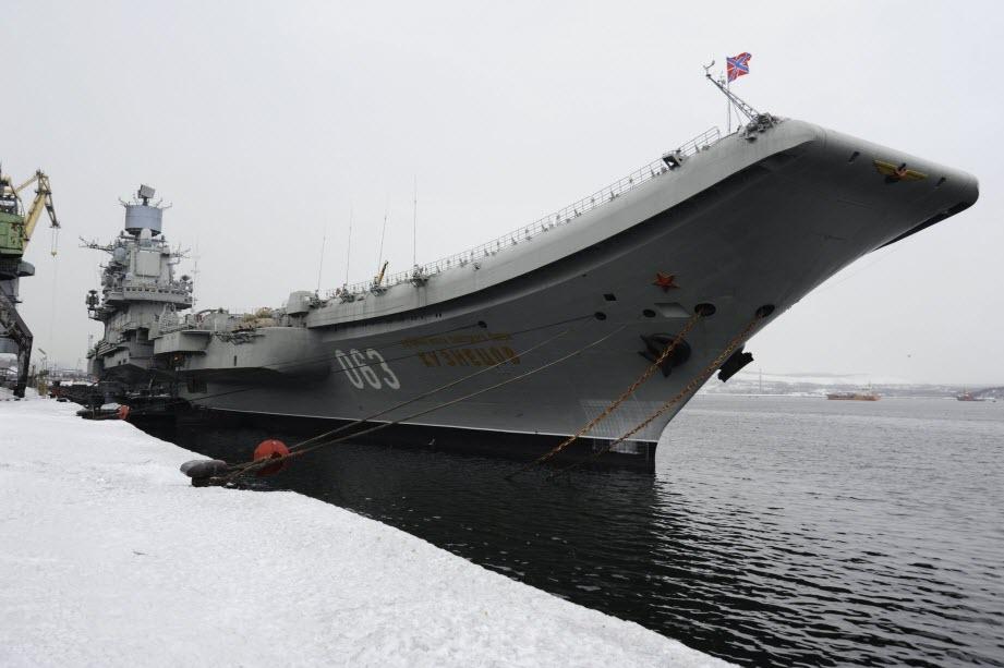 Hải quân Anh sẽ chặn tàu sân bay Nga tới Syria - 1