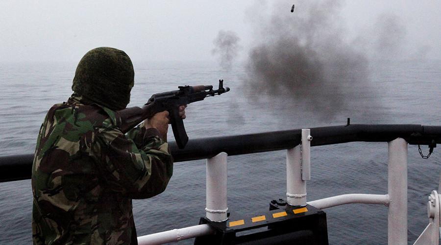 Đội tuần tra Nga nổ súng trên tàu đánh cá Triều Tiên - 1