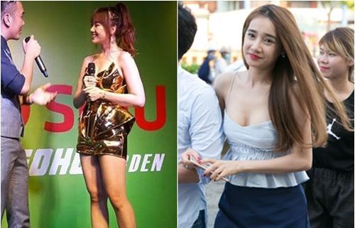Hình ảnh bạo nhất của bạn gái Trấn Thành, Trường Giang nơi đông người - 2