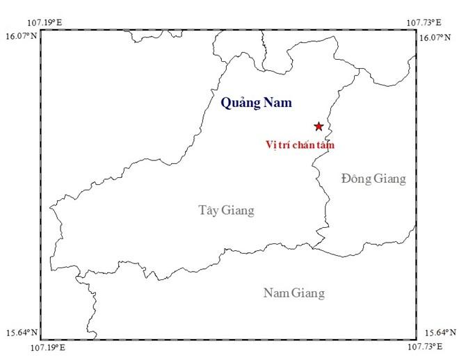 Quảng Nam: Động đất mạnh 3,4 độ richter - 1