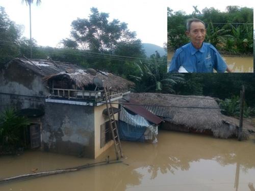 Dân bức xúc vì cứ thủy điện xả nước, phải leo lên nóc nhà - 3