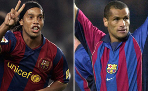 """Phù thủy bóng đá Brazil"": Rivaldo hay Ronaldinho? - 2"