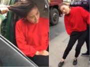 Bạn trẻ - Cuộc sống - TQ: Chồng vũ phu giật tóc vợ lôi đi trên phố gây sốc