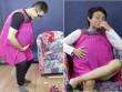 Clip: Trai trẻ lần đầu trải nghiệm cảm giác mang bầu