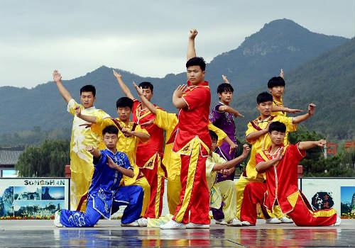 Choáng ngợp màn đồng diễn võ Thiếu Lâm tuyệt đỉnh - 9