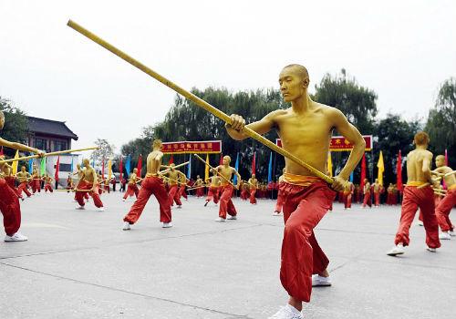 Choáng ngợp màn đồng diễn võ Thiếu Lâm tuyệt đỉnh - 15