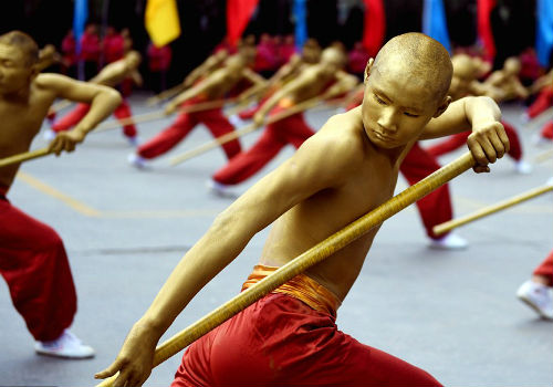 Choáng ngợp màn đồng diễn võ Thiếu Lâm tuyệt đỉnh - 14