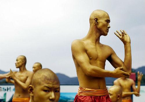 Choáng ngợp màn đồng diễn võ Thiếu Lâm tuyệt đỉnh - 13