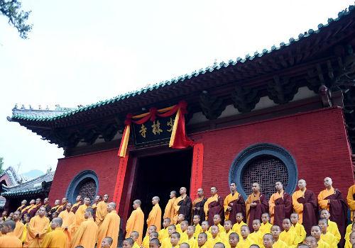 Choáng ngợp màn đồng diễn võ Thiếu Lâm tuyệt đỉnh - 12