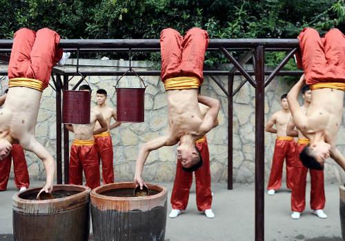 Choáng ngợp màn đồng diễn võ Thiếu Lâm tuyệt đỉnh - 10