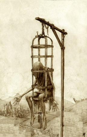 Lồng treo hành hình ghê rợn thời Trung cổ - 5