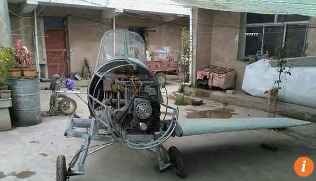 """TQ: Tự chế xong máy bay, người nông dân """"bó tay"""" đứng nhìn - 2"""