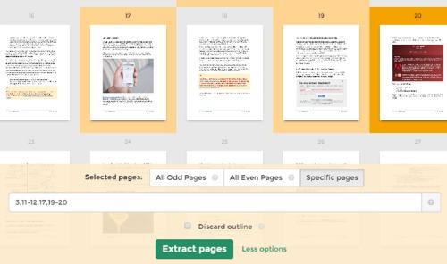 Cách sắp xếp và giải nén nhanh trang PDF - 5