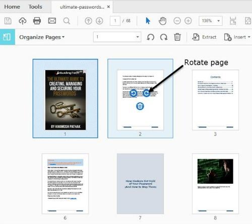 Cách sắp xếp và giải nén nhanh trang PDF - 2