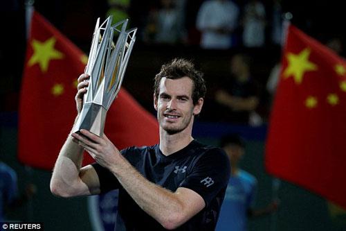 Murray có thể soán ngôi số 1 của Nole trước ATP Finals - 1
