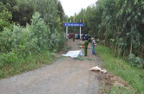 Khởi tố vụ giết người, đốt xác phi tang ở Long An - 1