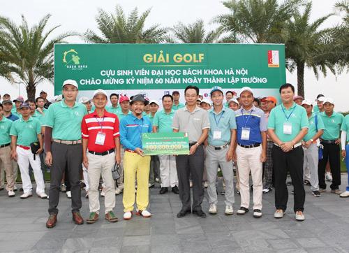 120 Golf thủ quy tụ tại giải Golf cựu sinh viên ĐH Bách Khoa - 2