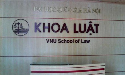 Nâng cấp khoa Luật thành trường đại học trực thuộc ĐH Quốc Gia Hà Nội - 1