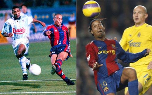 """Ro """"béo"""" đấu Ro """"vẩu"""": Bàn thắng đẹp nhất lịch sử Barca - 1"""