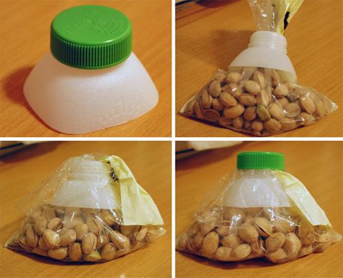 Công dụng không ngờ của lõi giấy vệ sinh, chai nhựa cũ - 3