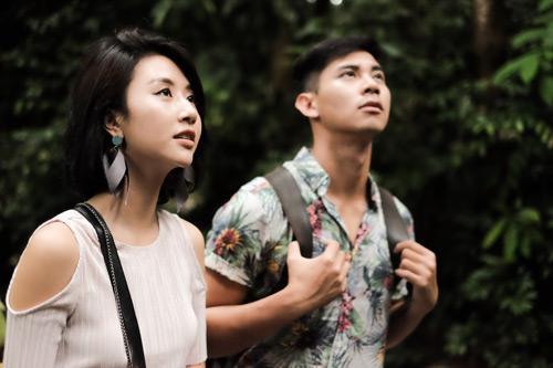 Văn Anh - Tú Vi cùng đoàn phim khám phá Singapore - 2