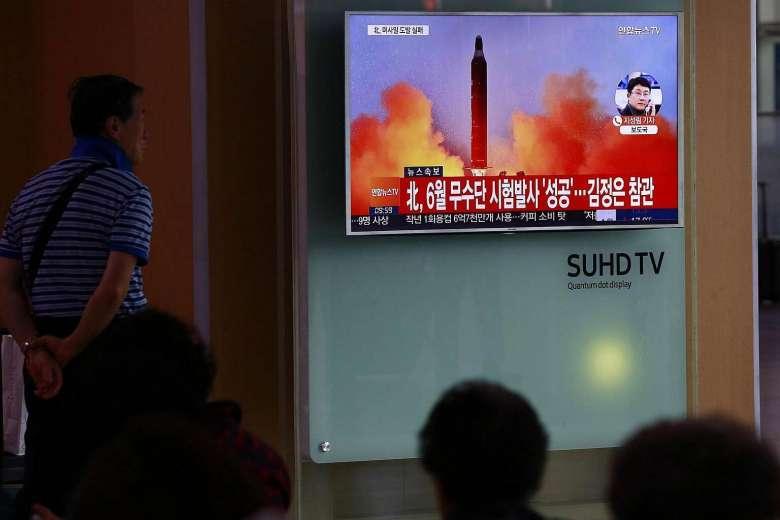 Tên lửa tầm trung Triều Tiên chưa bay đã nổ tung - 1