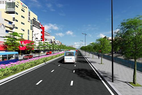 Hà Nội xây đường dài 3,5km, giá 2.000 tỷ - 2