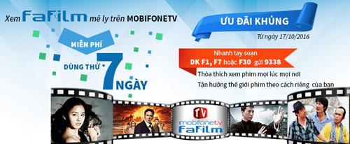Mobifonetv trình làng gói phim tổng hợp FAFILM - 1