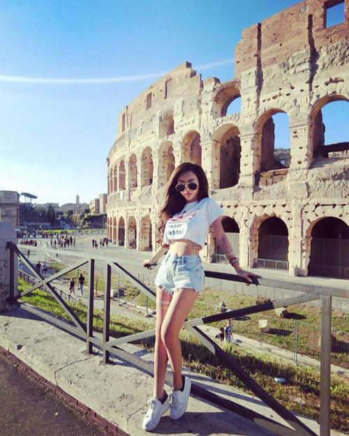 DJ xinh đẹp tiết lộ số tiền thật khi du lịch 7 nước châu Âu - 2