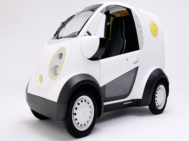 Honda tiết lộ mẫu Micro Commuter EV mới - 1
