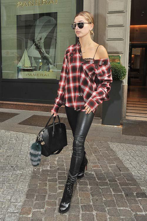 Trang phục dạo phố trăm triệu của siêu mẫu Hailey Baldwin - 5